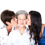 'Family is the link to your past & bridge to your future'. 3 Generations: 88 year old gran, mom & me.