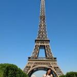 Eiffel Tower in Paris 2009