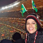 Soccer world cup in South Africa. Supporting my favourite team Brazil! 2010