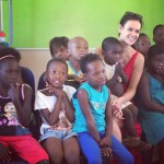 A blessed morning in Diepsloot teaching Sunday School, South Africa