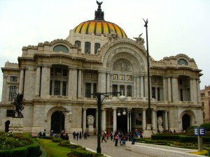 Palacio de Bella's Artes built in 1905