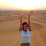 Suicidal desert Jeep safari, Dubai 2006