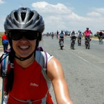 Completing the 2nd largest timed cycle race in the world, 94.7, Johannesburg, SA