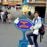 Visit to Disneyland while spending 3 months working on the West Coast, Los Angeles, 2004