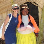Hanging with the locals, Lake Titicaca, Peru, 2011
