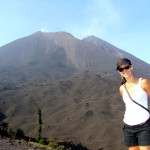 Hike to the roast marshmallows in the steaming Pacaya Volcano, Antigua, Guatemala 2013.