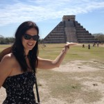 One of the 7 wonders of the world, Chichen Itza, Yucatan, Mexico 2013