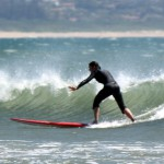 Surfing in Durban, South Africa 2013