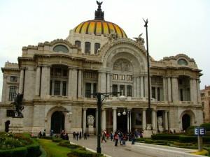 Palacio de Bella's Artes built in 1905