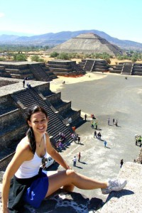 World Heritage Site: Teotihuacan Pyramids.